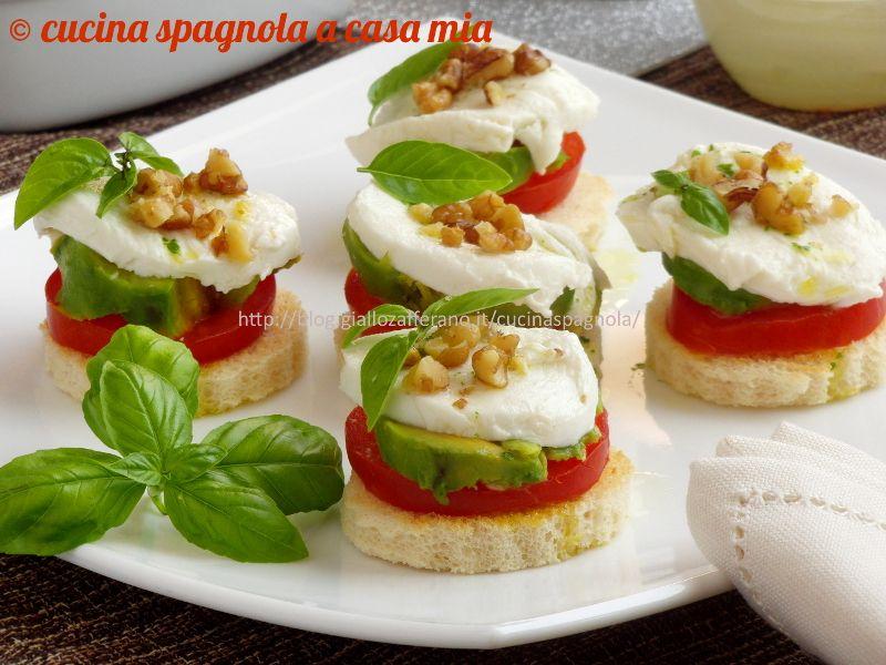 Ricette di antipasti con avocado