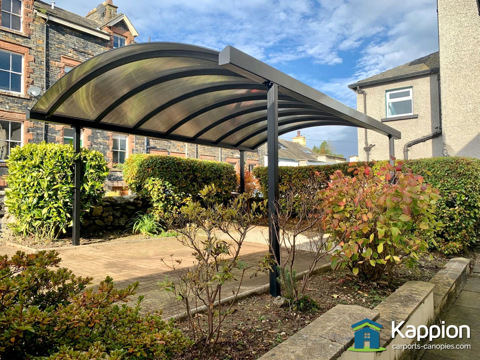Free Standing Single Carport Installed In Ulverston Carport Canopy