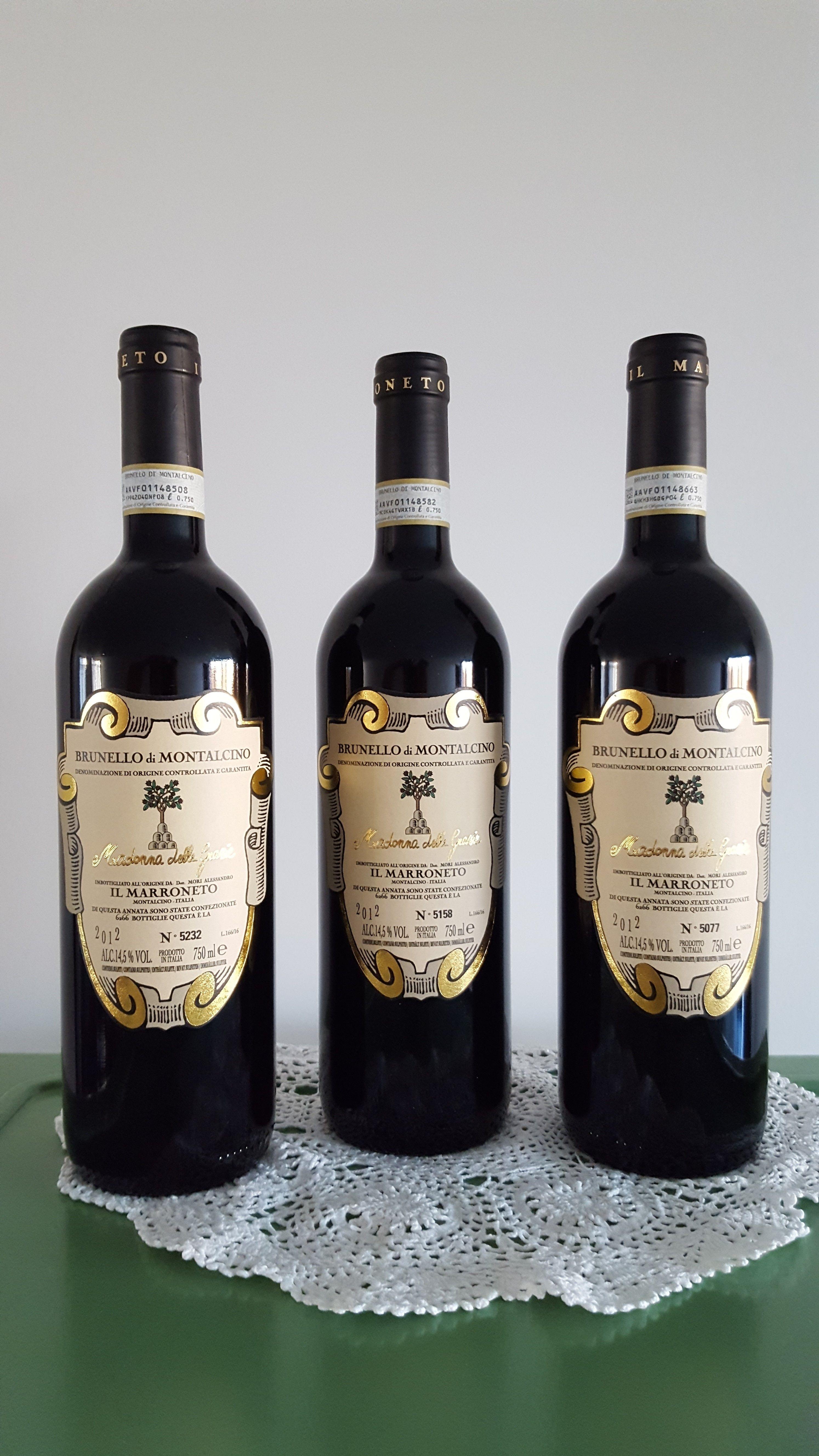 Il Marroneto Brunello Di Montalcino Madonna Delle Grazie 2012 RP 99 100