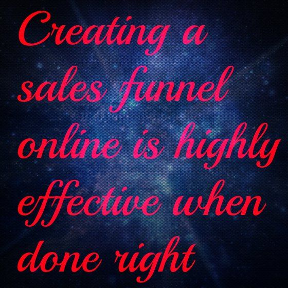 Creating a Sales Funnel