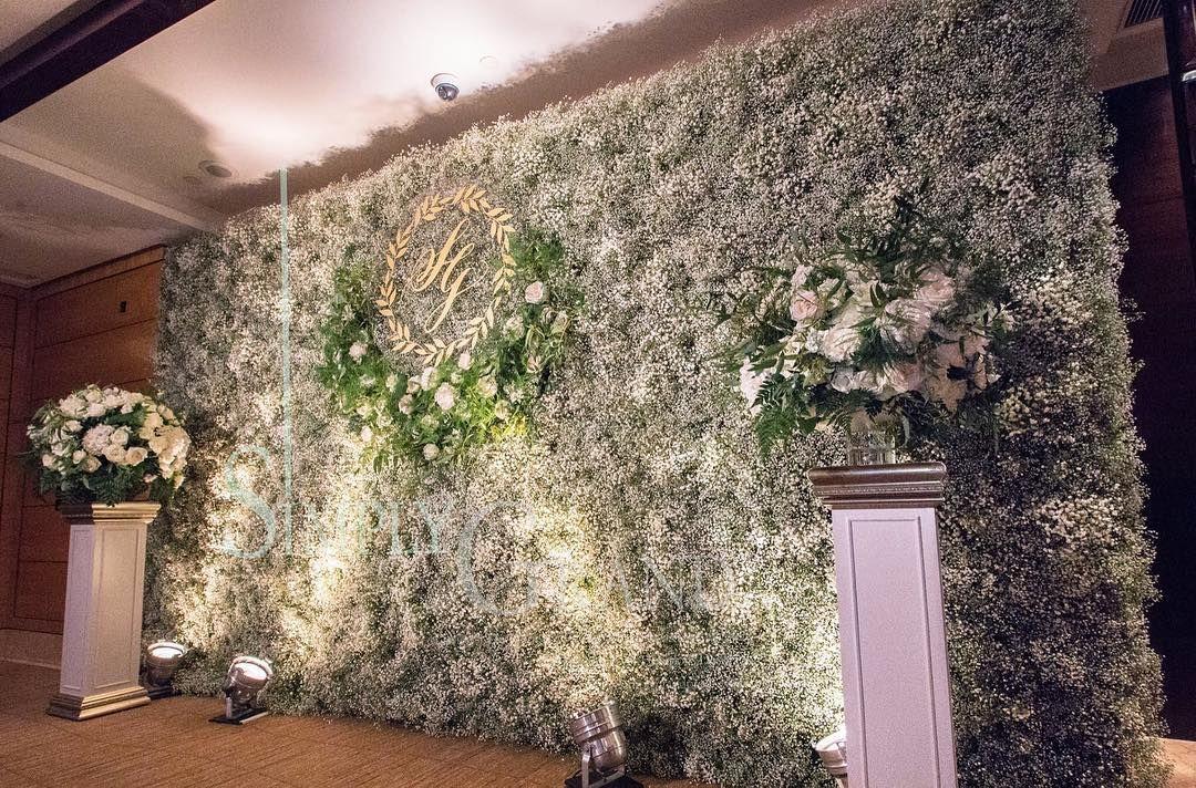 Polubienia 23 Komentarze 1 Simply Grand Production Simplygrandproduction Na Instagramie Our Favour Babys Breath Flowers Flower Wall Flower Wall Decor