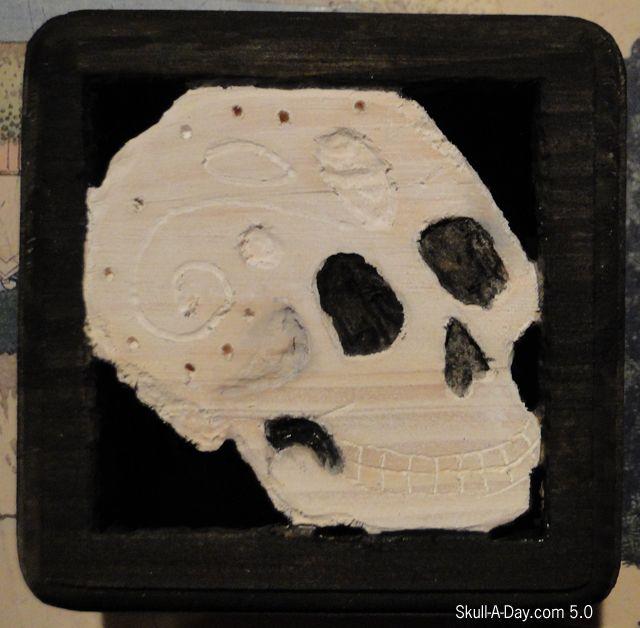 Dia de la Abby #54 - Wooden Skulls