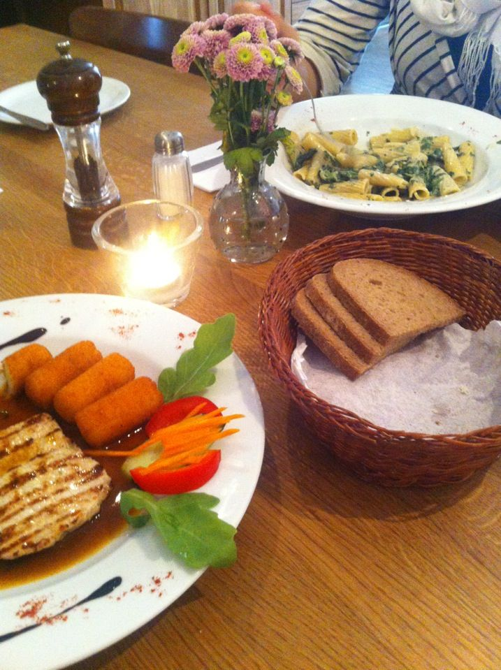 Hüftgold in Berlin, Berlin Europäische Küche (ist in Ordnung - ordnung in der küche