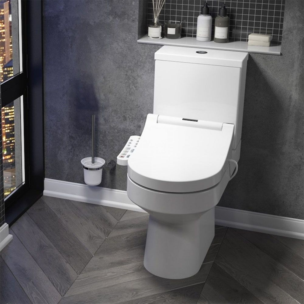 Metro Smart Toilet with Bidet Wash Function, Heated Seat