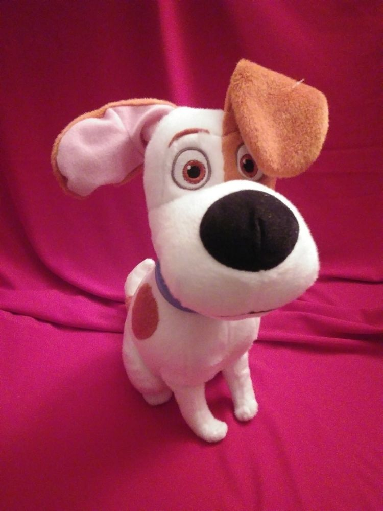 "12"" Max Dog The Secret Life Of Pets Stuffed Animal Plush"