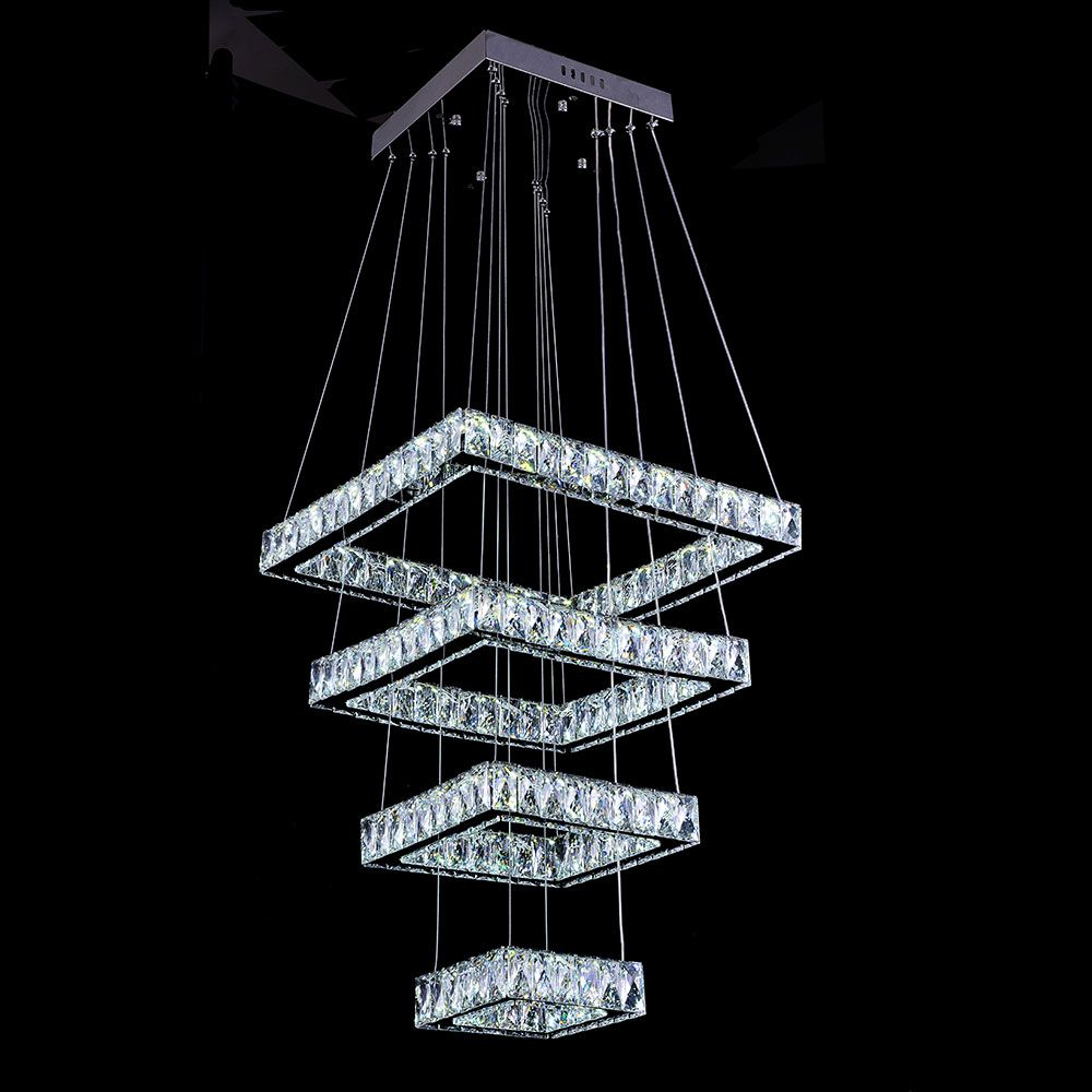 2017 new modern square chandelier long rectangle crystals led lamp cheap chandelier long buy quality modern square chandelier directly from china square chandelier suppliers 2017 new modern square chandelier long arubaitofo Choice Image