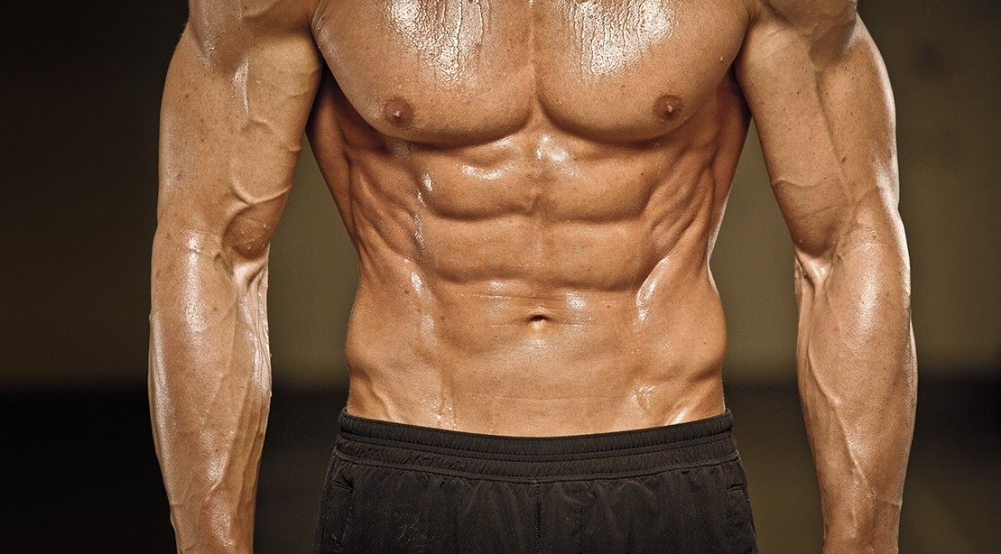 Image result for bodybuilder's oblique muscles