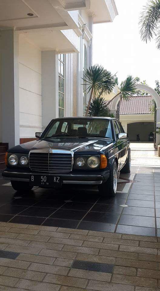 W123 Mercedes Benz Tiger 280e Koleksi Pribadi Purwokerto