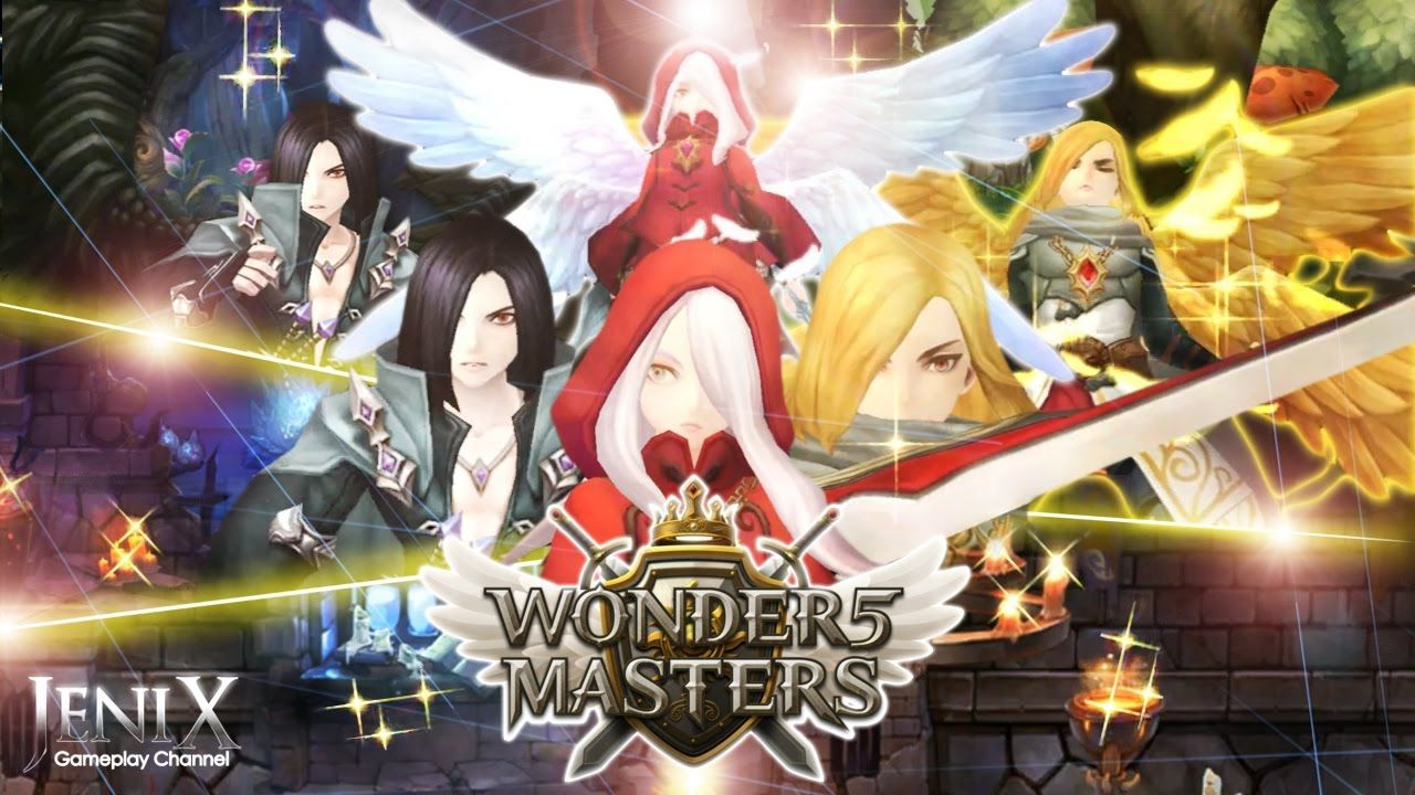 Wonder5 Masters Gameplay / RPG / Android / English