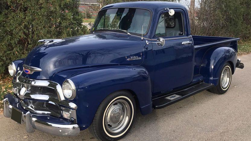 1954 Chevrolet 3100 Resto Mod Pickup 454 CI, Vintage Air
