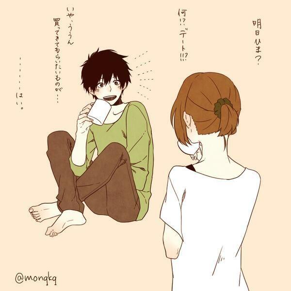 Twitter Anime Liebespaar Anime Zeichnen