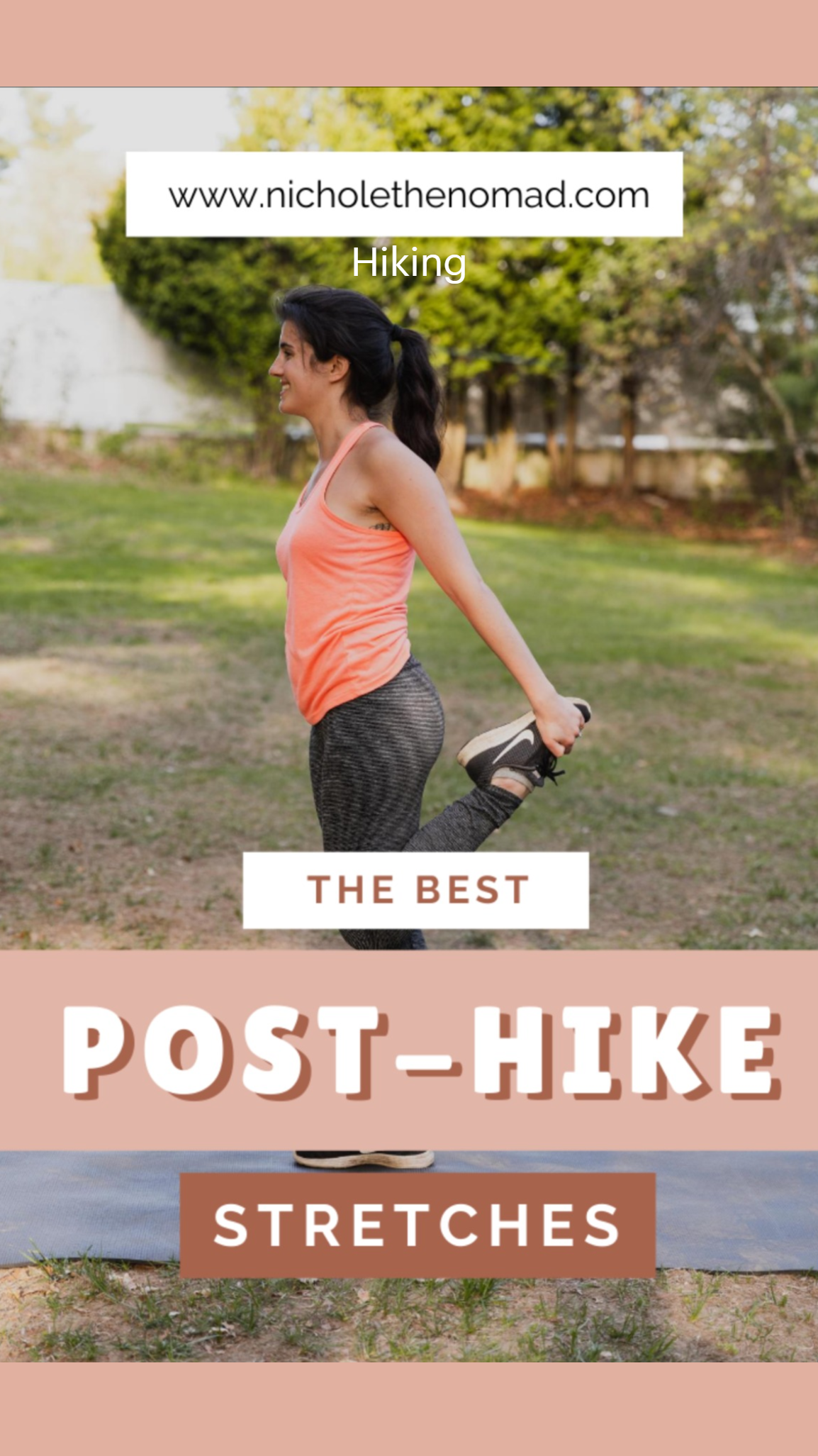 The Best Post-Hike Streches to Relieve Sore Muscles