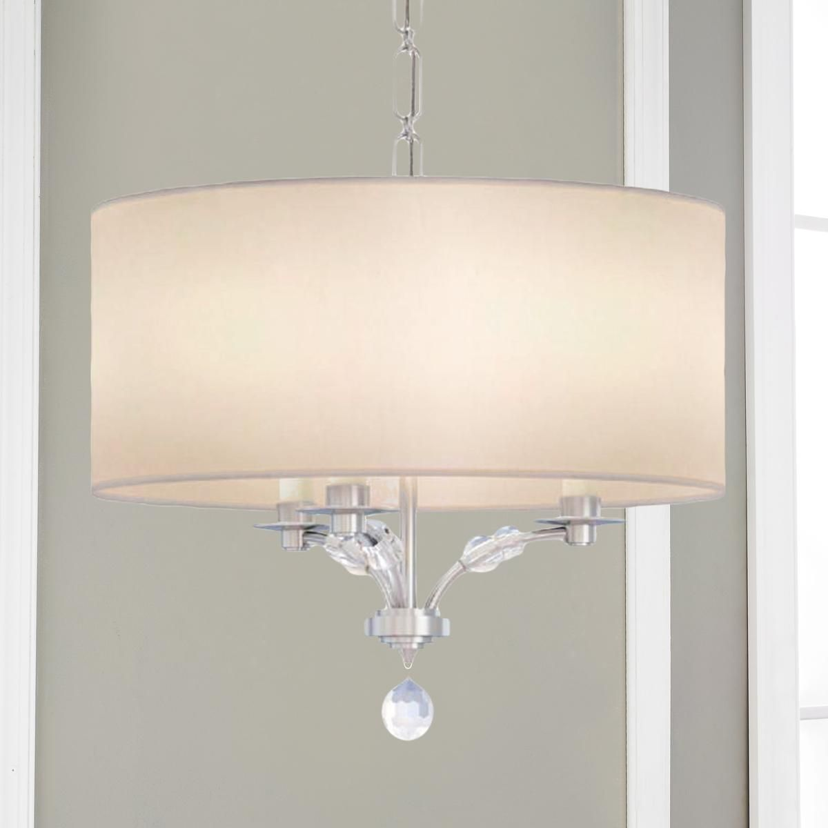 Modern Crystal Bead Shade Chandelier Small Chandelier Shades Drum Shade Chandelier Chrome Chandeliers