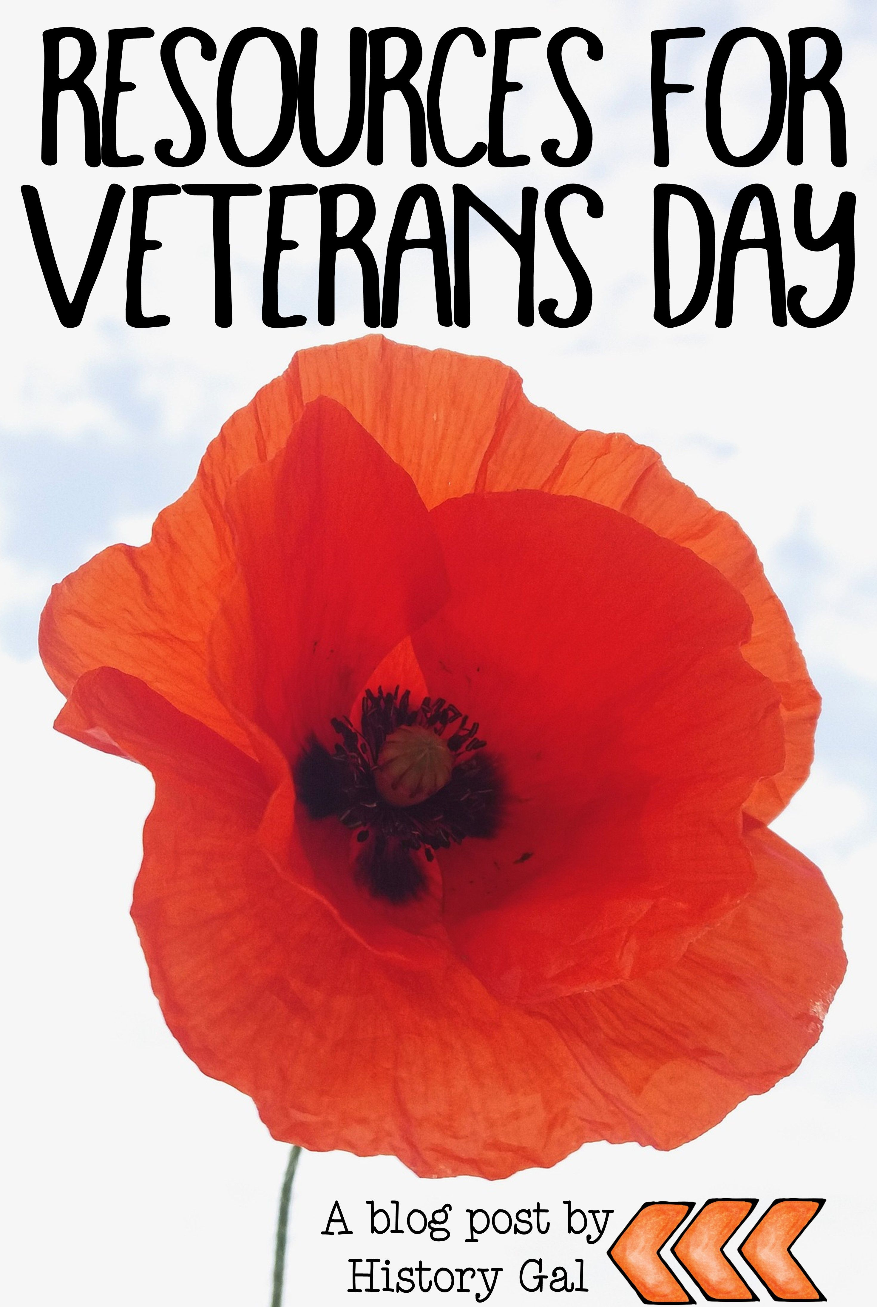 Resources For Teaching About Veterans Day