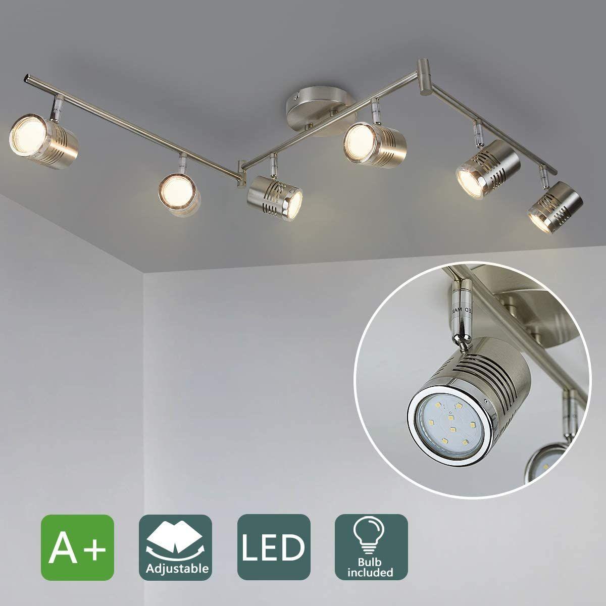 Dollinger 4 Light Semi Flush Mount Kitchen Lighting Fixtures Ceiling Industrial Kitchen Lighting Track Lighting Kitchen