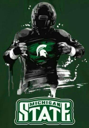 Michigan State University Spartans Football Msu Spartans Football Michigan State Football Michigan State Spartans