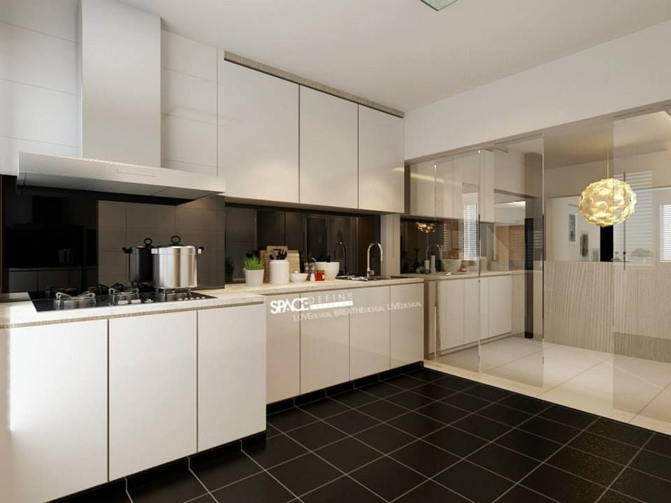 Hdb Resale 3 Room Modern Contemporary At Marine Terrace Kitchen Interior Design Modern Modern Room Interior Design Kitchen