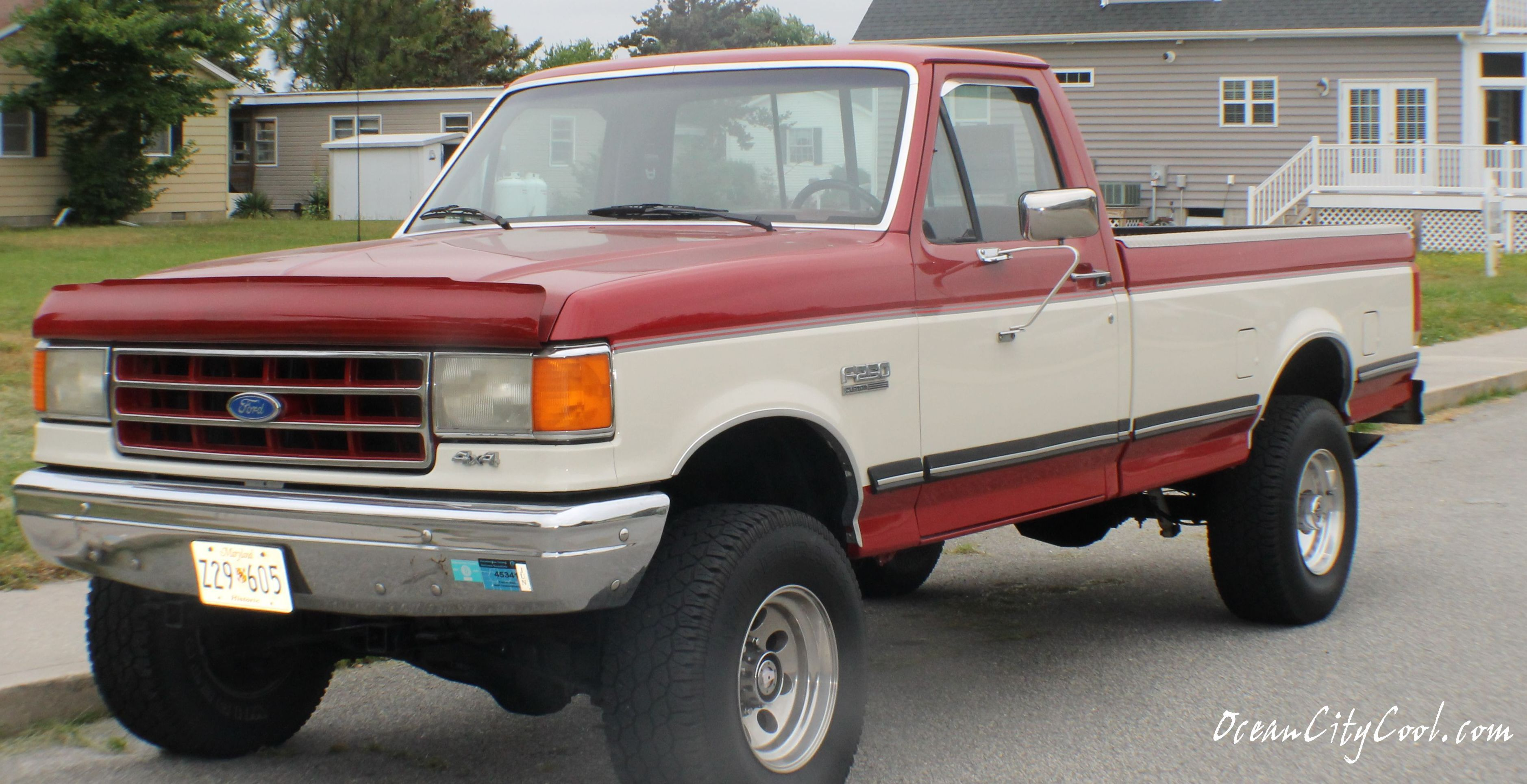 Historic 1988 Ford F250 4x4 Click Pix To Learn More Ocmd Ocauto Ford F250 Ford 4x4 F250