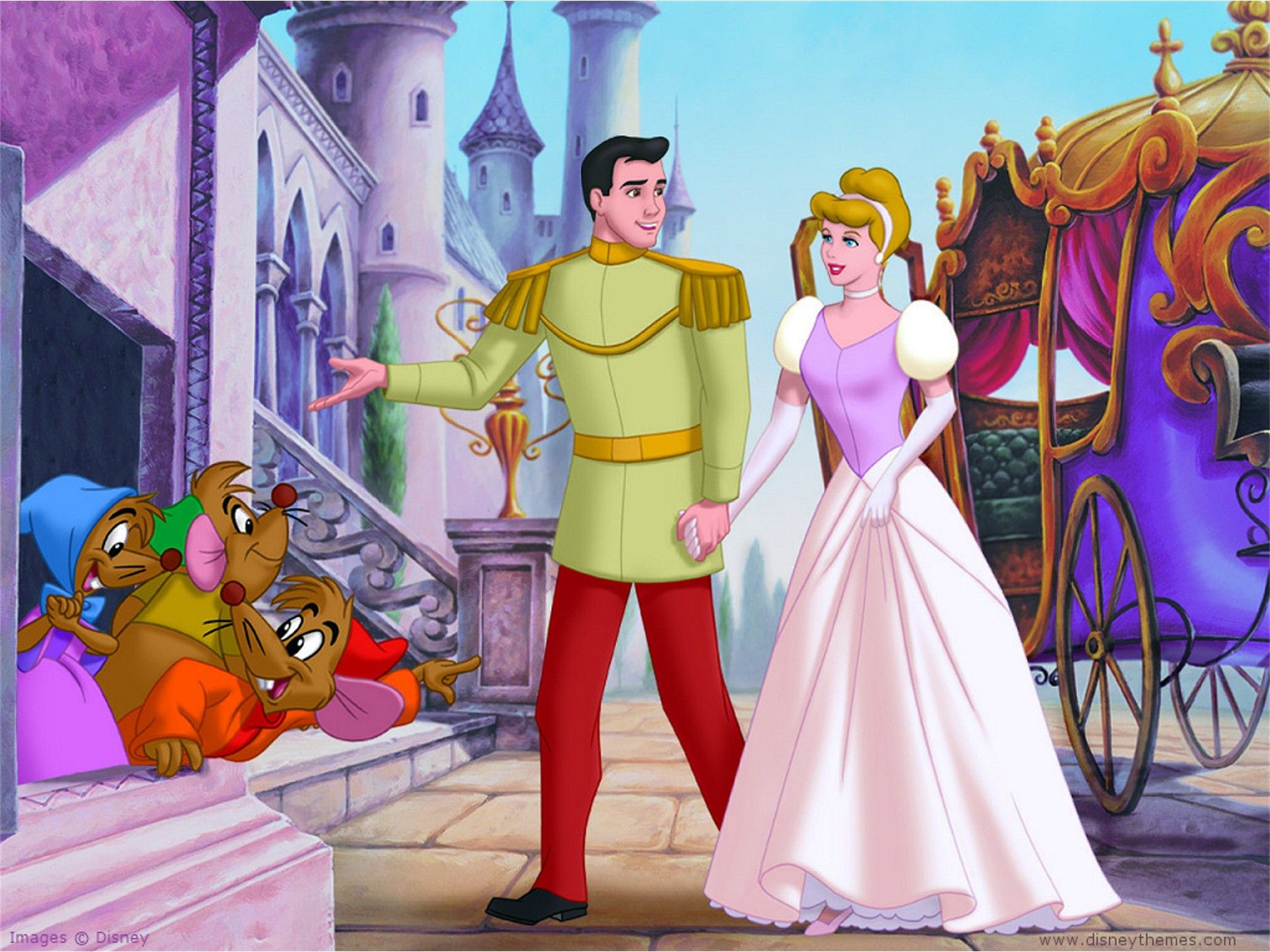 1955 Cinderella the movie came out. It was the first time I went to the movies.