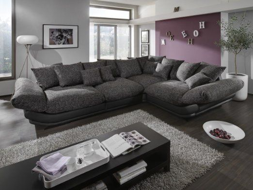 megasofa loungesofa ecksofa sofa couch bigsofa rose x newlook trendmanufaktur wohnen. Black Bedroom Furniture Sets. Home Design Ideas