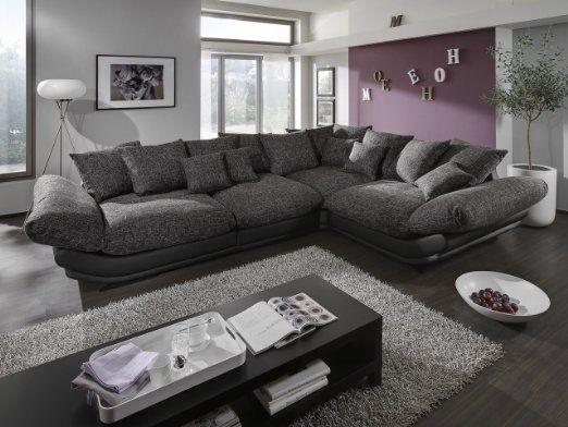 megasofa loungesofa ecksofa sofa couch bigsofa rose x newlook trendmanufaktur wohnen. Black Bedroom Furniture Sets. Home Design Ideas
