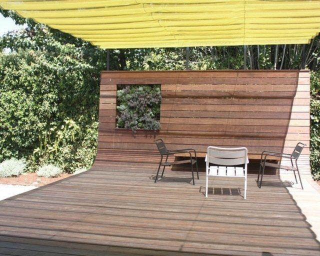 plate forme terrasse originale bois