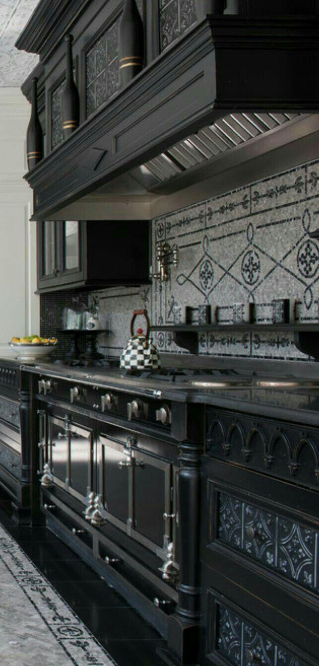 My dream kitchen #gothichome