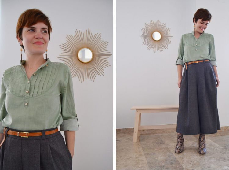 Zoom in: the Botanic Trousers (Patrones de costura, tutoriales e ideas