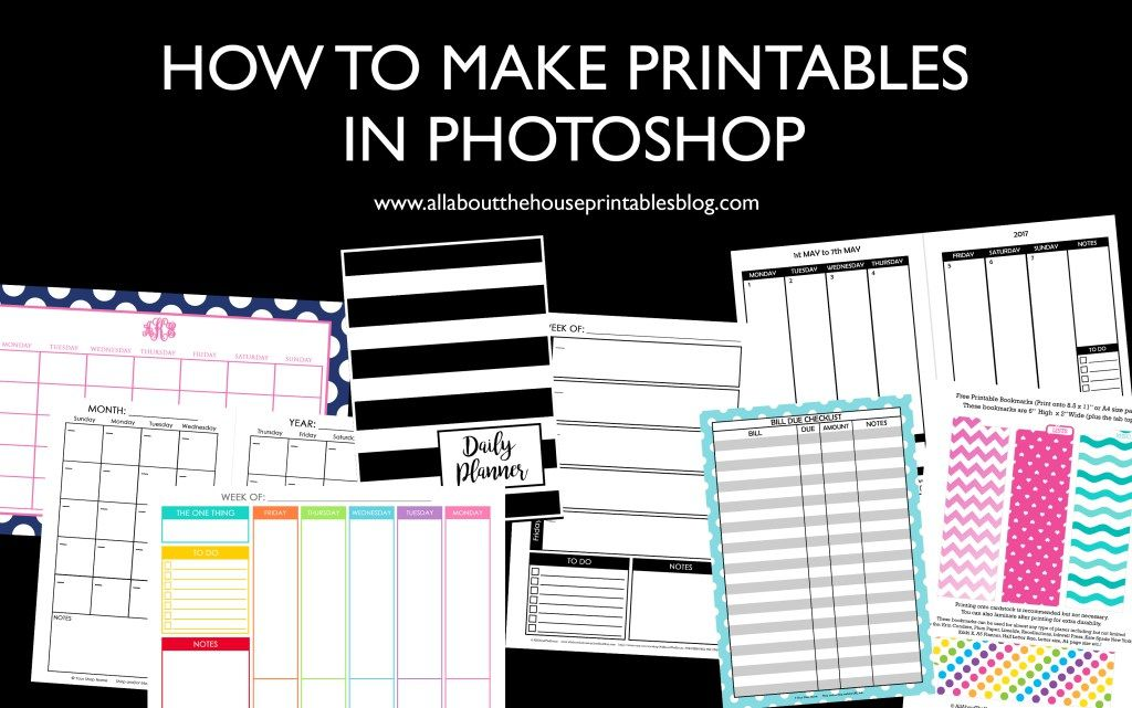 image about How to Create a Printable identified as How towards Deliver Printables inside of Photoshop (stage via stage video clip