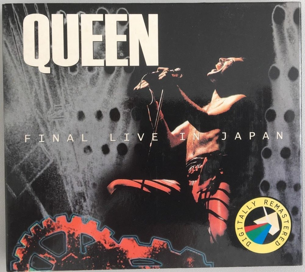 Queen - Final Live in Japan - double CD set - fold out paper cover