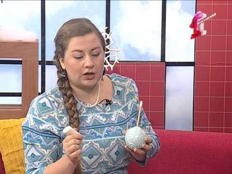 Волшебные елочные шары своими руками