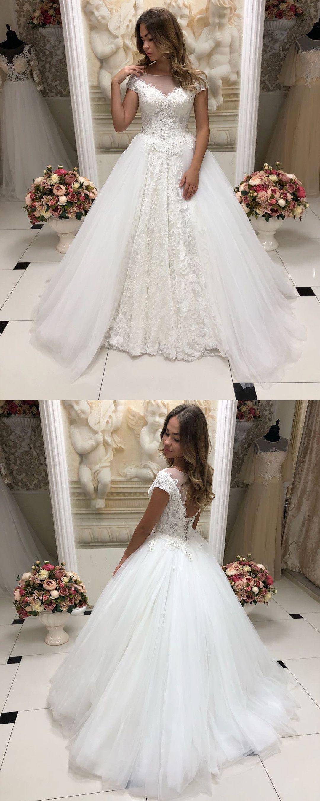 22+ White long sleeve modest wedding dress info