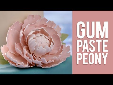 Show Stopping Gum Paste Statement Flowers Made Easy Sugar Flowers Tutorial Gum Paste Flowers Gum Paste