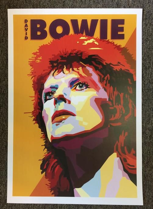 Poster Print David Bowie Art