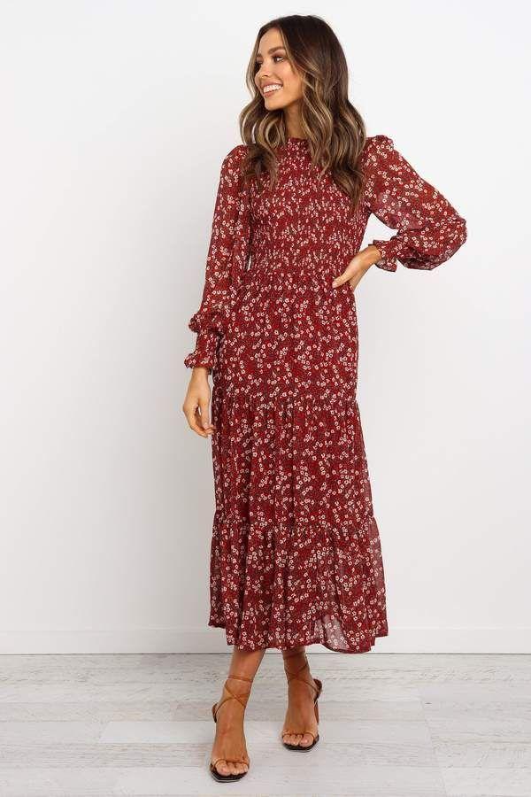 Thaddeus Dress - Red 11