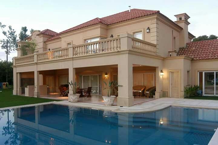 Casa neoclasica casas ciba pinterest san diego y campo - Fachadas de casas clasicas ...