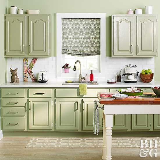 Kitchen Without Furniture: How To Paint Kitchen Cabinets