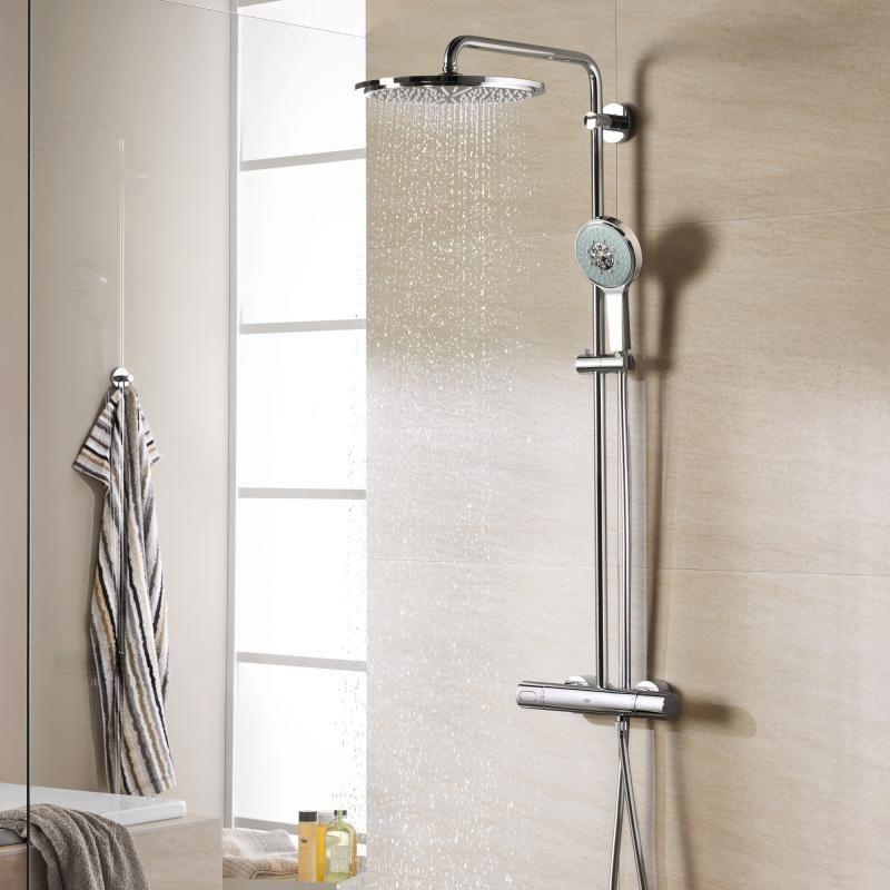 grohe rainshower system 310 duschsystem mit. Black Bedroom Furniture Sets. Home Design Ideas