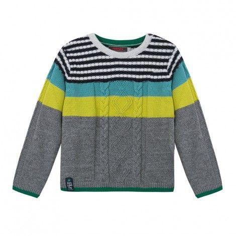Pull jeux de rayures Catimini | Modele tricot, Rayures, Vetement enfant