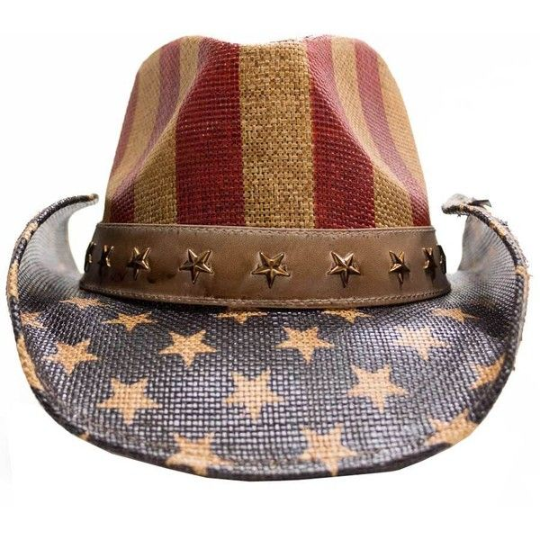 Peter Grimm Justice America Drifter Hat Blue ( 99) ❤ liked on Polyvore  featuring accessories and peter grimm 734baf821cd