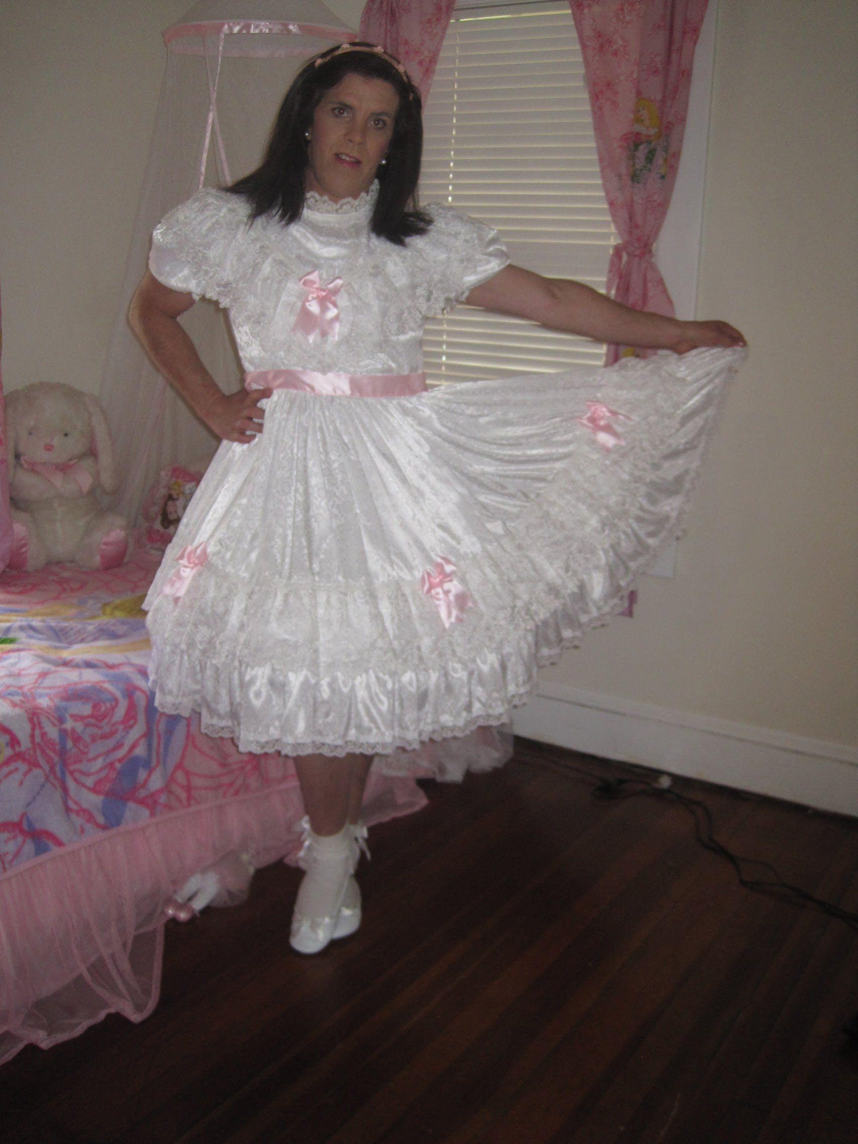 Crossdresser Princess Little Girl Sissy' Dresses