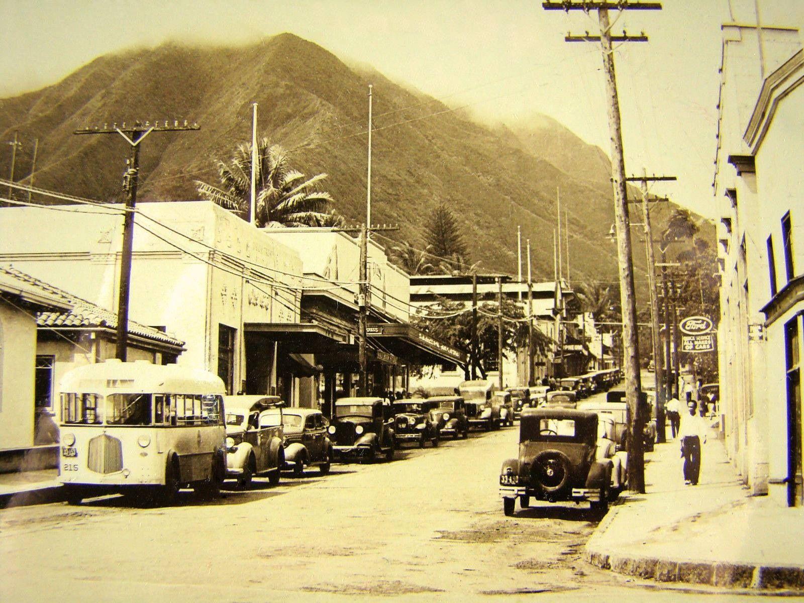 1940s Wailuku Maui Hawaiʻi Mahalo To Vintage Hawaiʻi