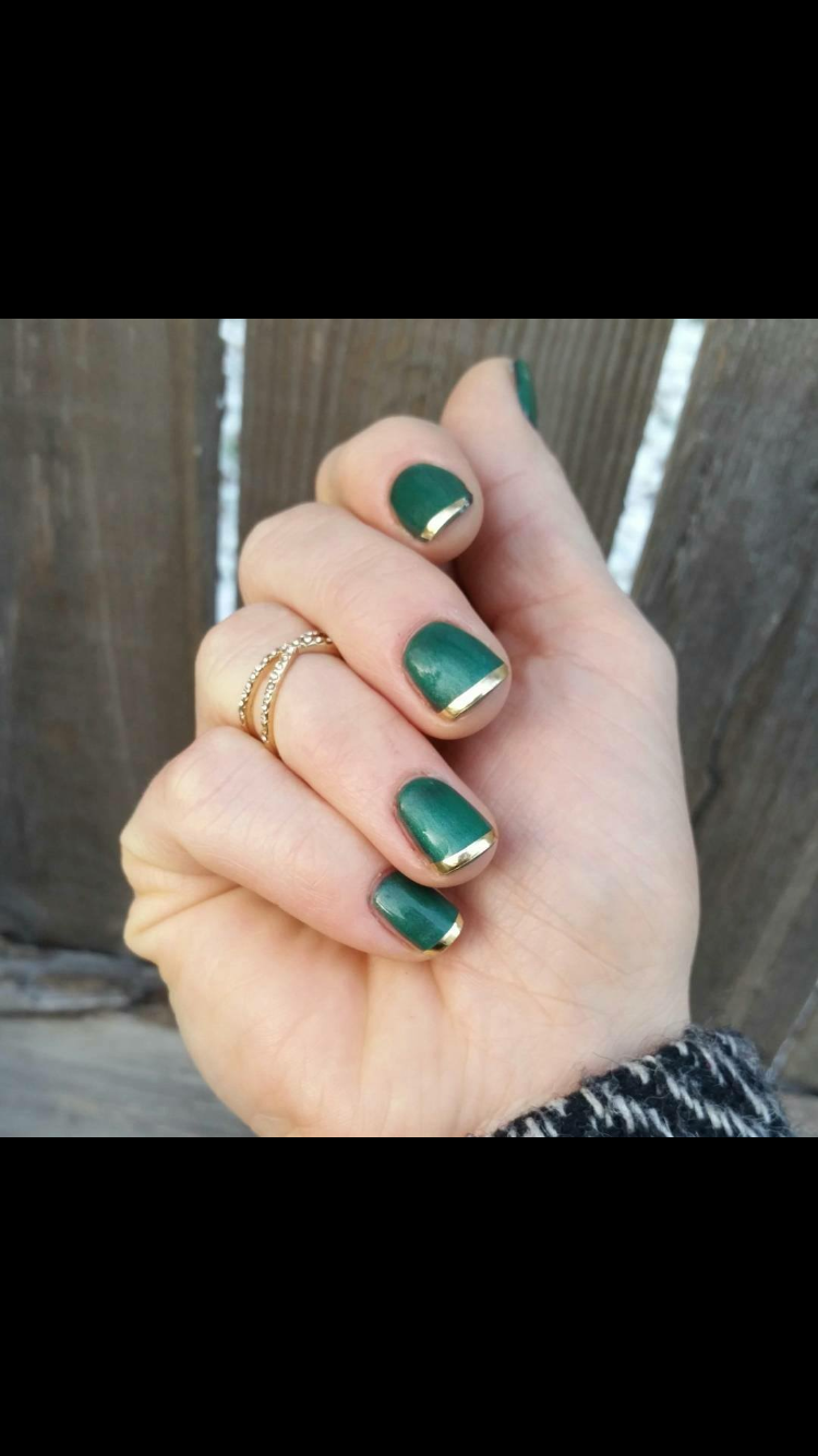 Using Gold strips | Nails!!! | Pinterest | Jamberry, Jamberry nails ...