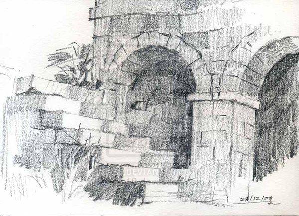 Sketch Scenery Drawing Pencil Landscape Pencil Drawings Drawings