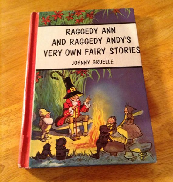 Vintage Raggedy Ann And Andys Very Own Fairy Stories Marilyn Of