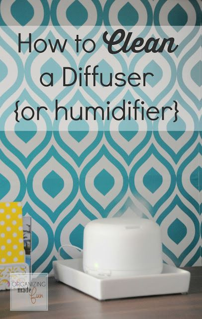 how to clean a diffuser