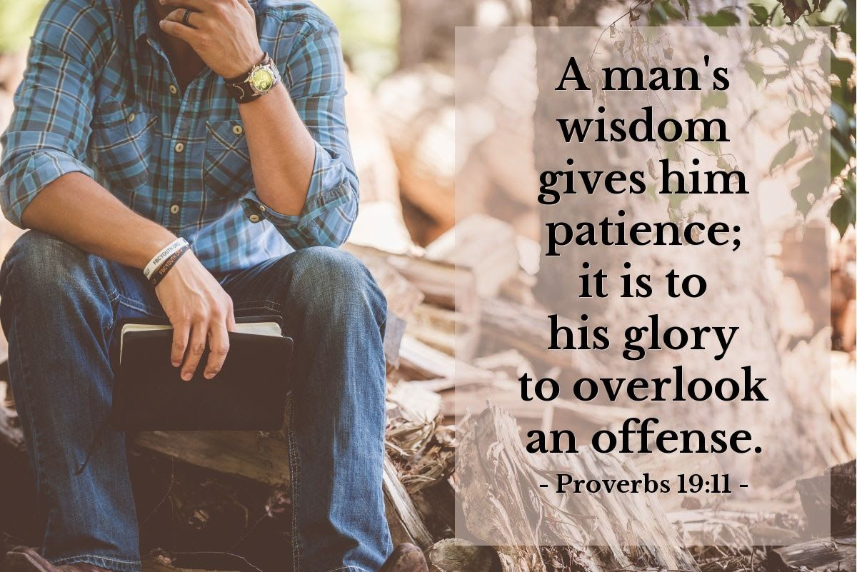 Illustration of Proverbs 1911 Proverbs 19, Daily wisdom