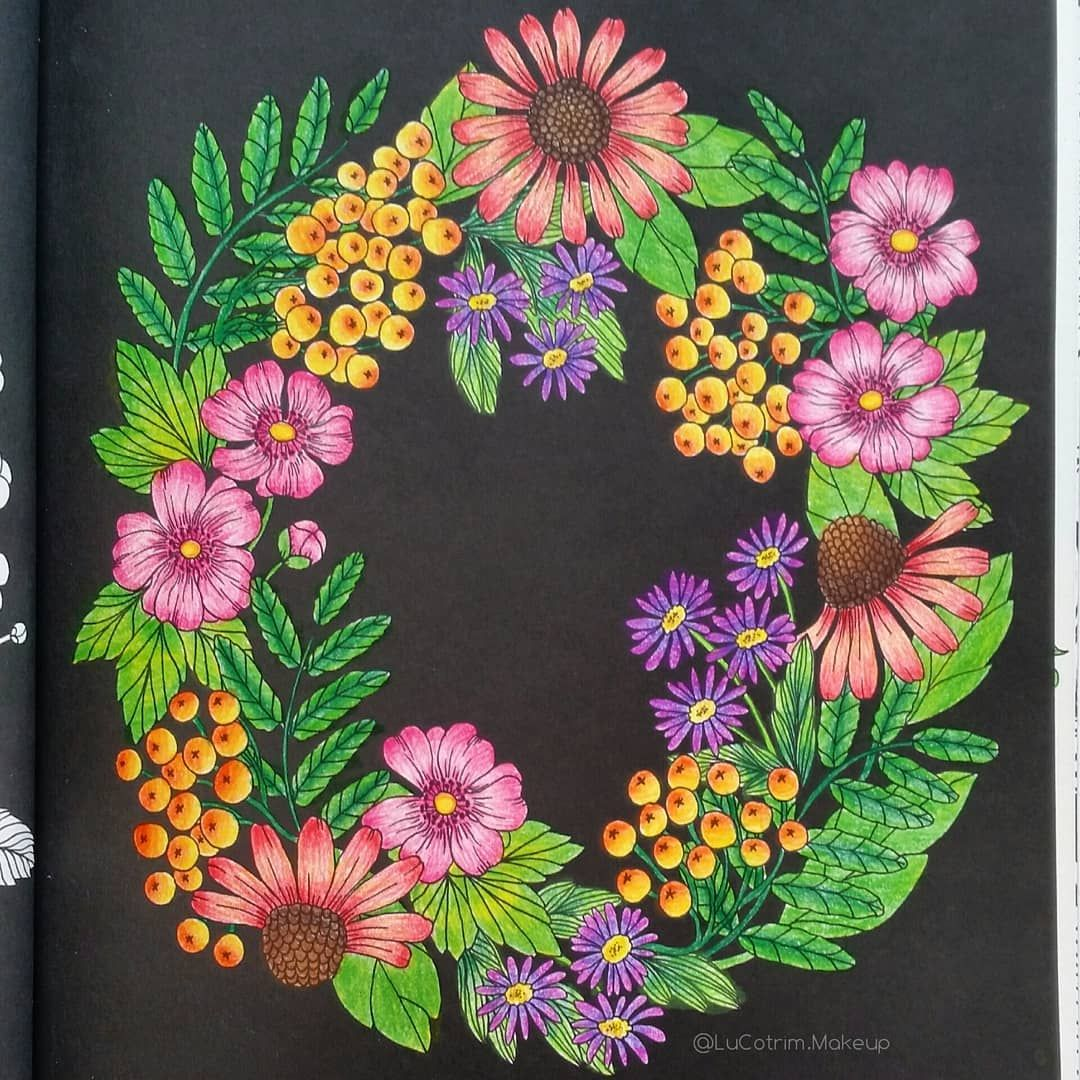Twilight Garden Maria Trolle Kleurboek Kleuren Botanische Tuin