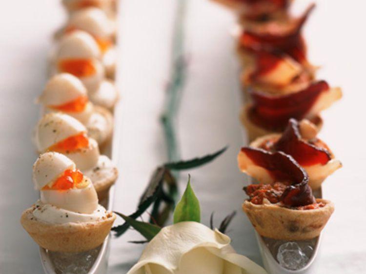 Bien-aimé Bouchées œufs de caille et magret | Recette | Cailles, Les  DP19