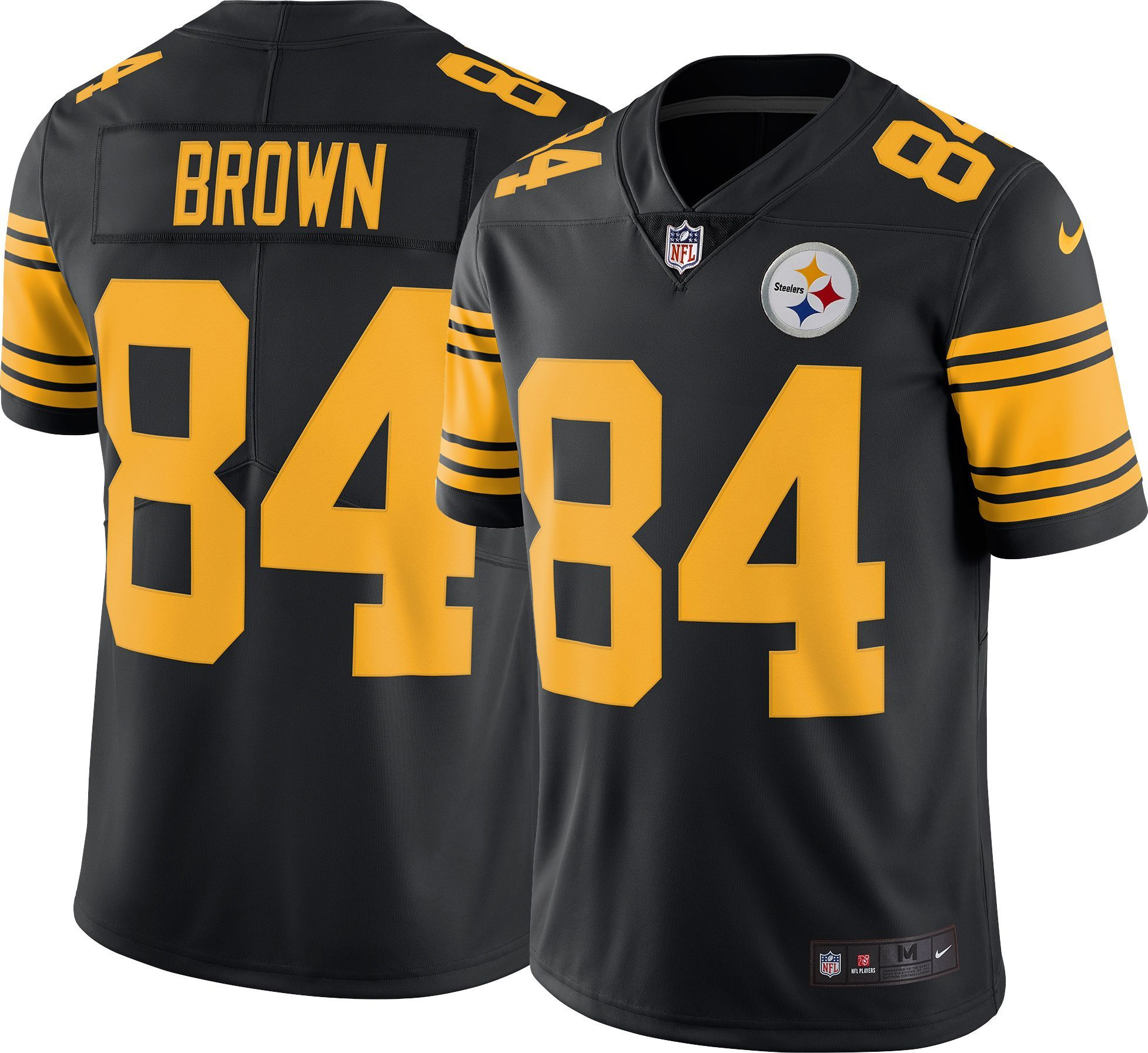 a28c02f98 Nike Men s Color Rush 2016 Limited Jersey Pittsburgh Antonio Brown  84